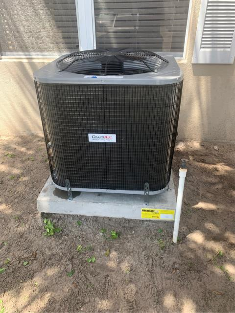 Palm City, FL - Installed new air conditioning system; 2.5 ton, 14 seer.