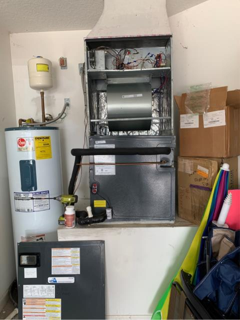 Port St. Lucie, FL - Air Conditioning system maintenance.  Performed a 23 point inspection to keep ac running efficiently.