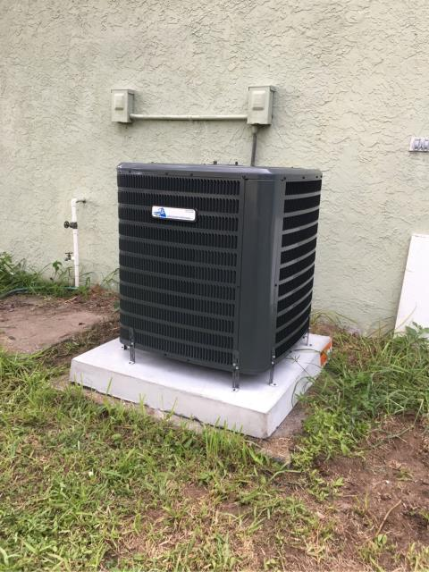 Port St. Lucie, FL - Installed new air conditioning system; 2.5 ton, 14 seer.