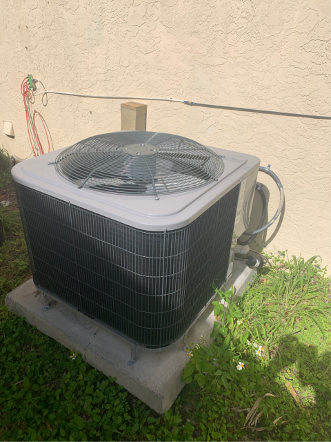 Port Salerno, FL - Air Conditioning System maintenance; 23 point inspection twice a year.