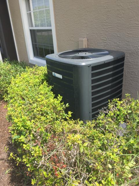 Jensen Beach, FL - Installed new air conditioning system; 3 ton, 16 seer.