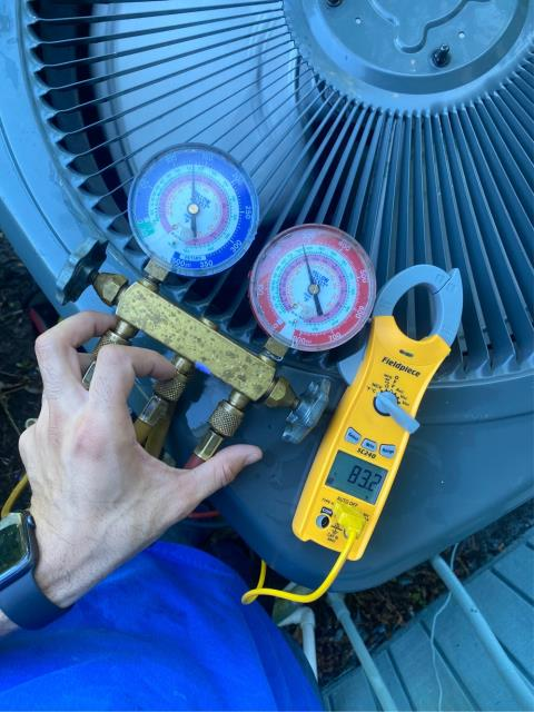 Palm City, FL - Air Conditioning System maintenance includes 23 point inspection to keep ac running efficiently.
