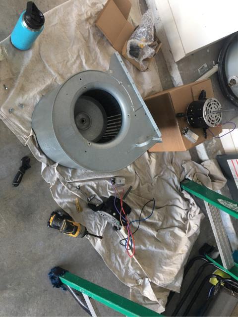 Port St. Lucie, FL - AC system not cooling; replaced blower motor and air conditioner  running cold again.