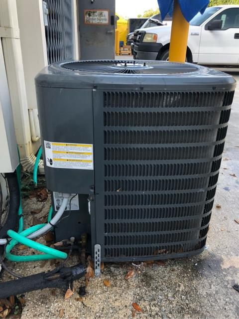 Wellington, FL - Commercial air conditioning system maintenance; we recommend twice a year; includes a 23 point inspection.