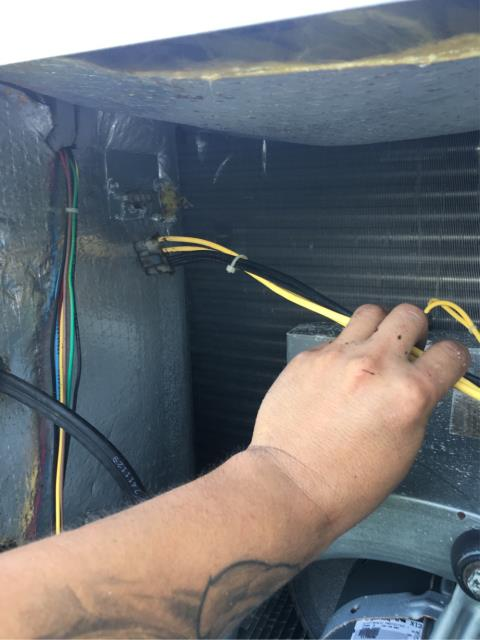 "Hobe Sound, FL - Air conditioner running constantly; we found Heater relay stuck on ""on"" position causing heater to run constantly."