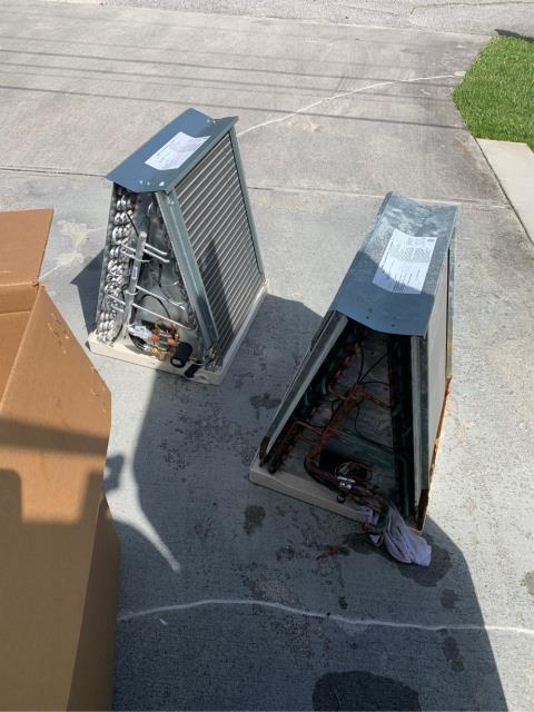 Port St. Lucie, FL - Air Conditioning system not cooling; replaced coil.