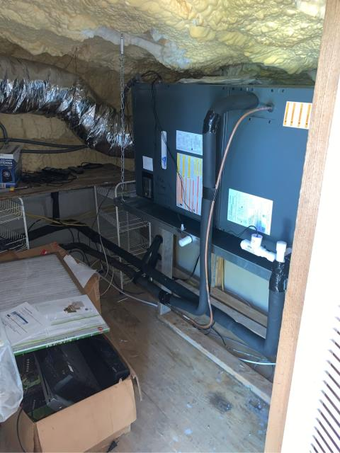 Palm City, FL - Installed new air conditioning system.