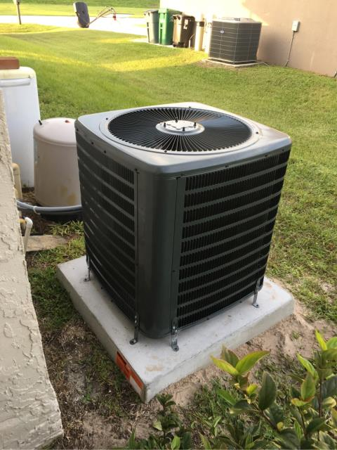 Port St. Lucie, FL - Installed new air conditioning system.