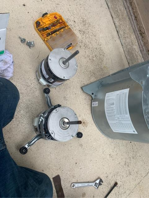 Boca Raton, FL - Air Conditioning system not cooling; installed blower motor.