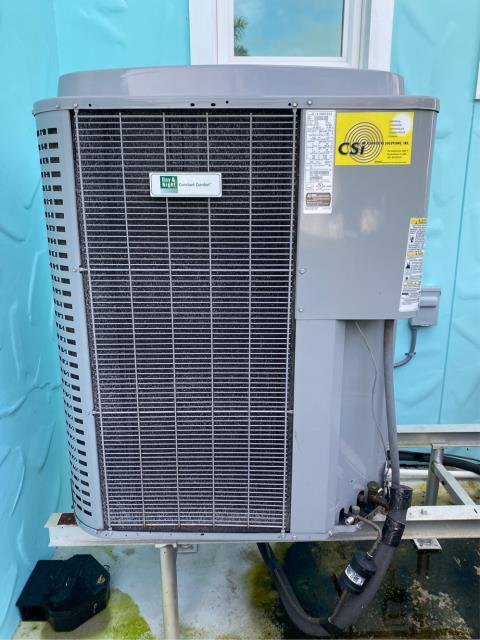 Palm City, FL - Air conditioning system maintenance includes 23 point inspection and recommended twice a year.