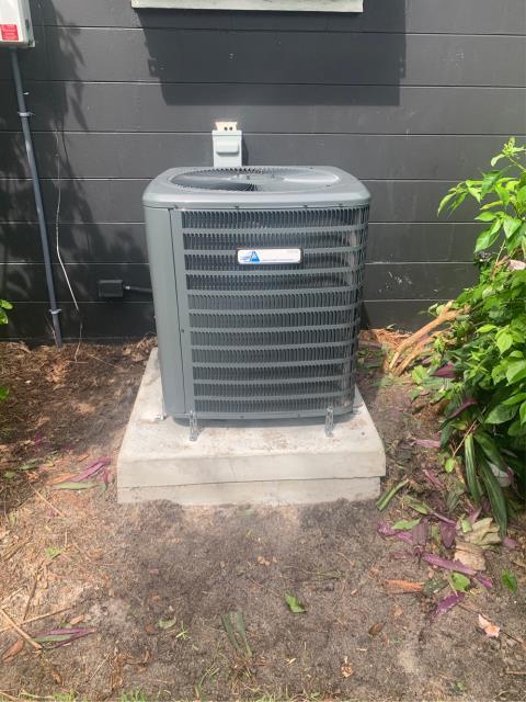 Vero Beach, FL - Installed new air conditioning system; 2 ton, 16 seer.