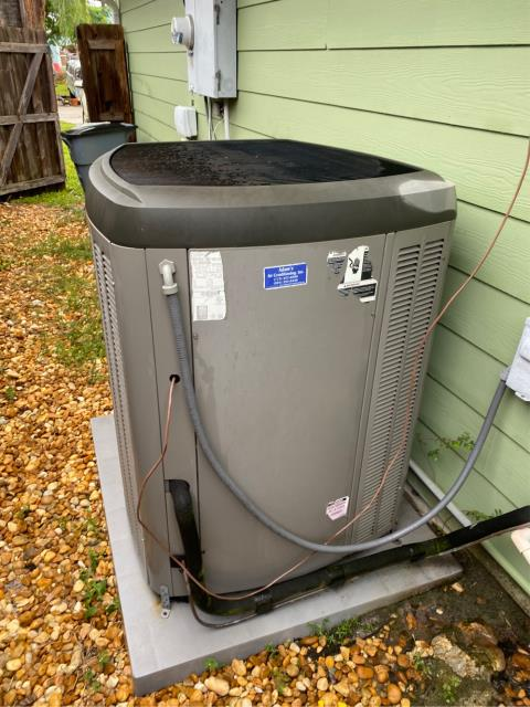 Port Salerno, FL - Air conditioning system tune up for our long time customer; includes 23 point inspection and flush drain line.