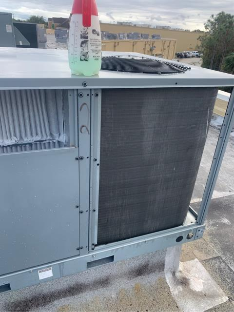 Hobe Sound, FL - Air conditioning system commercial maintenance performed quarterly and includes 23 point inspection, clean accessible coils, flush drain lines, and change all filters.