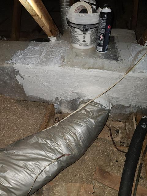 Hobe Sound, FL - Air conditioning system plenum came loose; sealed and reattached.  All operations working.
