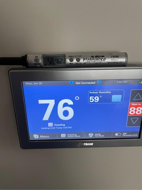 North Palm Beach, FL - Air conditioning system not working; replaced thermostat and all operations running again!