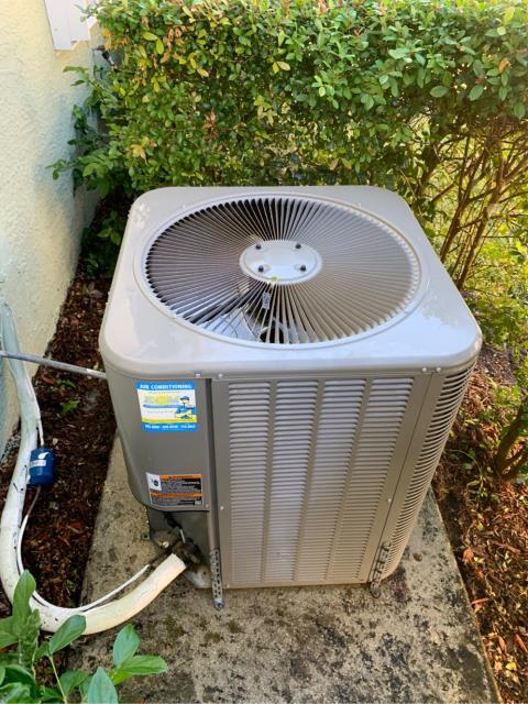 Jensen Beach, FL - Air conditioning system Tune up includes a 23 point inspection, clean accessible coils, flush drain line, and clean drain pans.