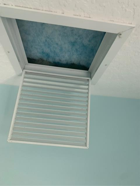 Palm City, FL - Install grilles for new air conditioning system.