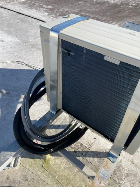 Fort Pierce, FL - Installed commercial mini split air conditioning system; 1 ton, 17 seer.