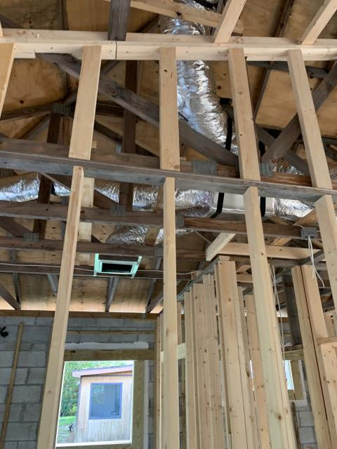 Fort Pierce, FL - Residential HVAC new construction; installation of new air conditioning systems and ductwork.