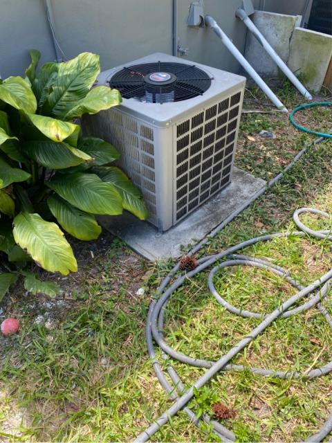 Port Salerno, FL - Air conditioning system estimate to replace ac in customers budget and to fit his needs.