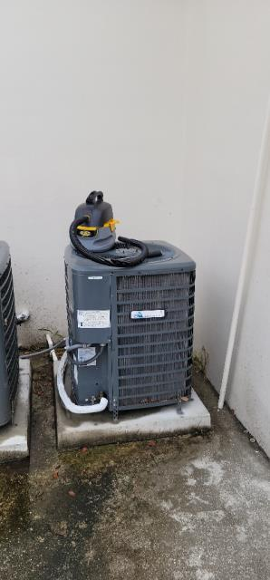 Wellington, FL - Air conditioning systems commercial maintenance performed on four systems twice a year to keep the ac systems running efficiently all year round.