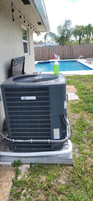 Palm Beach Gardens, FL - Air conditioning system complimentary tune up performed 6 months after we install a new ac system.  All tune ups come with a 23 point inspection.