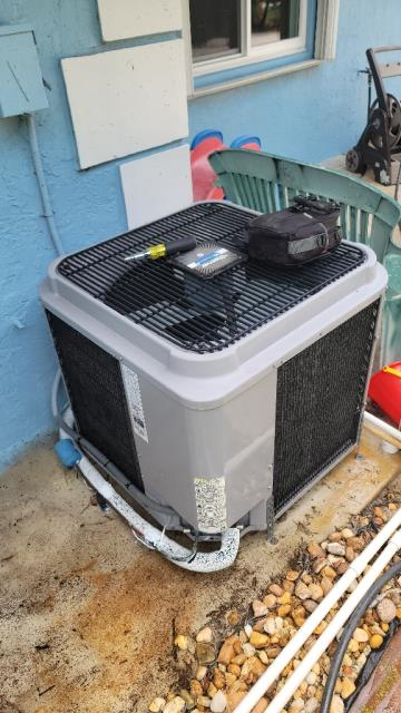 Palm City, FL - Air conditioning system preferred maintenance on 3 systems.  All maintenance come with a 23 point inspection and are recommended twice a year to keep your ac running efficiently all year round.