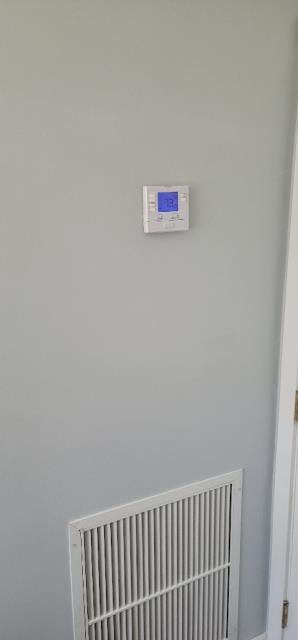 Port Salerno, FL - Air conditioning was not flowing evenly so we moved the thermostat and adjusted airflow toward master bedroom.