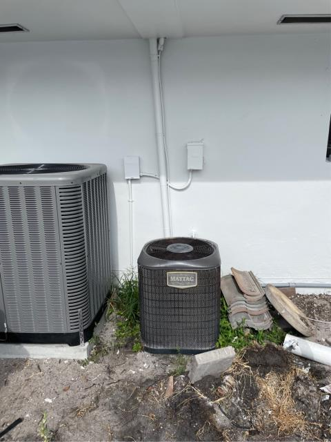 Jupiter, FL - Air conditioning system free estimate to replace ac system provided to customer in his budget and to suit his needs.