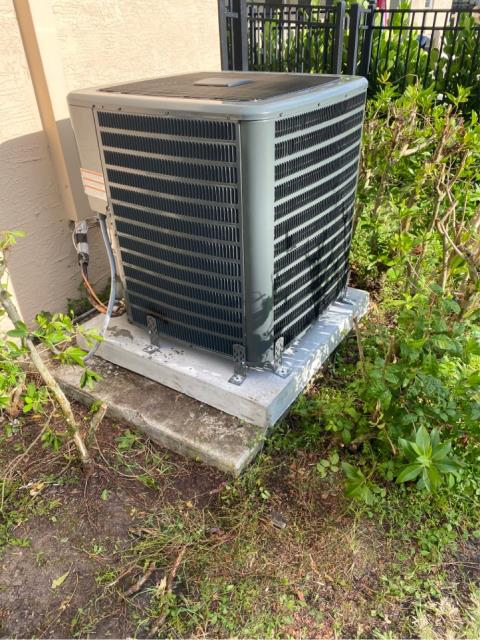 Palm City, FL - Air conditioning system installation.  We love our friends and neighbors in Highland Reserve!