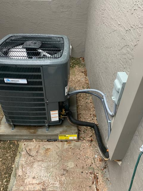 Port St. Lucie, FL - Installation of two air conditioning systems for the house and one mini split ac system for the garage.