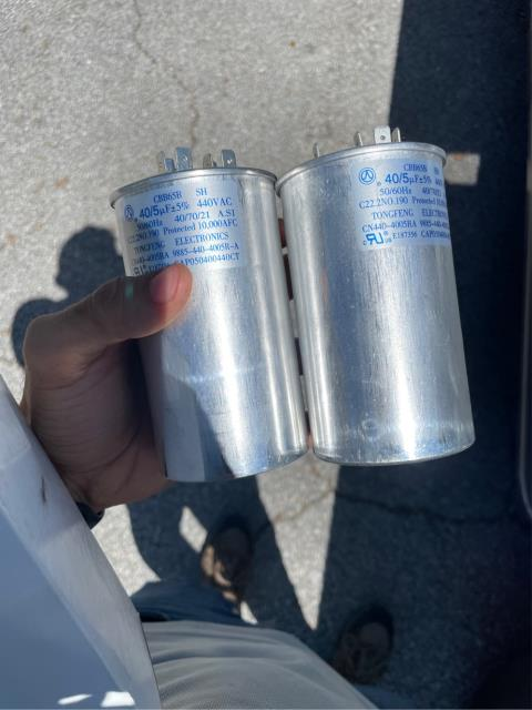 West Palm Beach, FL - Air conditioning system was not cooling properly as we found bad dual capacitor at condenser.  We replaced capacitor and check system operations.  Everything working properly.