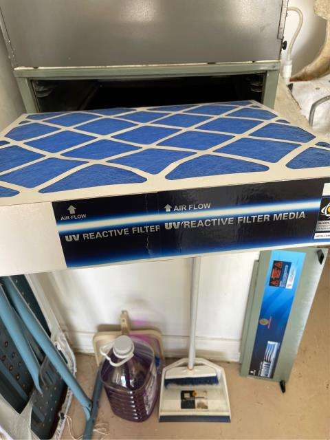 West Palm Beach, FL - Air conditioning system maintenance includes a 23 point inspection and filter change.  We recommend changing filters every few months.