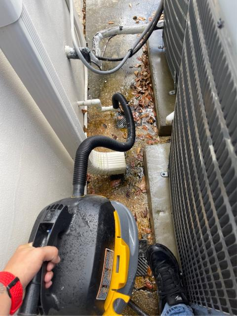 Wellington, FL - Air conditioning system maintenance on 4 commercial systems.  All systems include a 23 point inspection and is recommended annually to keep them running efficiently.