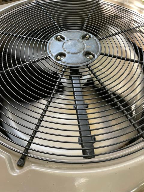 Jensen Beach, FL - AC system not cooling; found and replaced bad condenser fan motor.  All operations working.