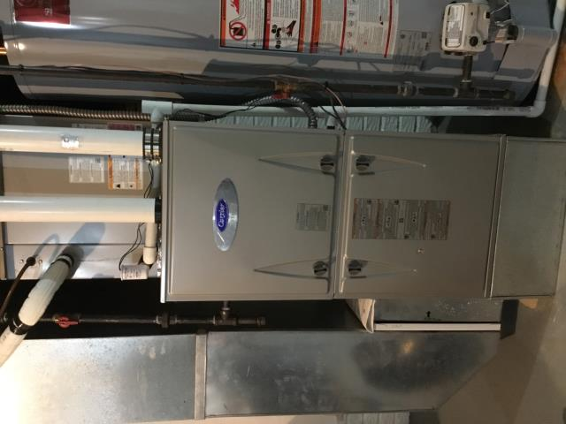Dublin, OH - New Albany Heating and Cooling, Carrier furnace checkup, Dublin Ohio.