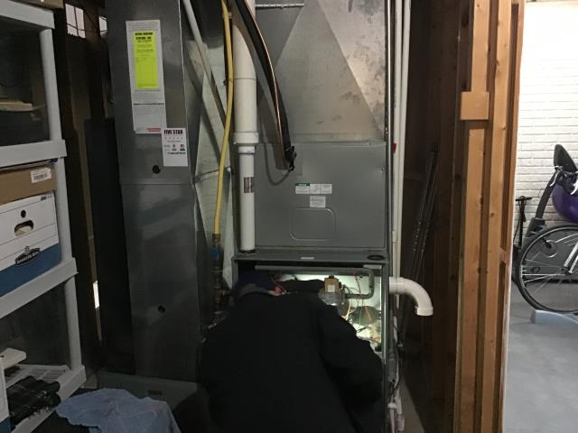 Lewis Center, OH - Lewis center Rheem furnace repair HVAC
