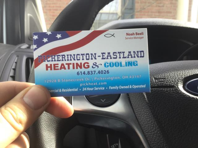 New Albany, OH - Humidifier name plate repair. New Albany HVAC service
