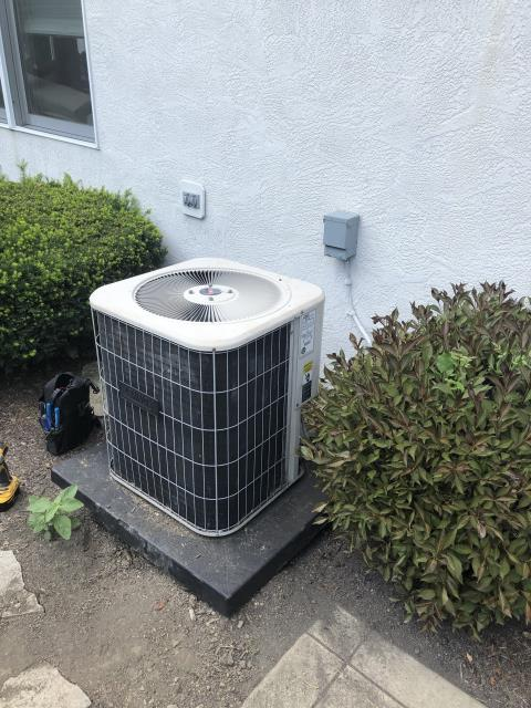 Etna, OH -  Replace Condenser Fan Motor (Single Speed) with Capacitor & Fan Blades