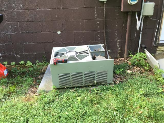 Whitehall, OH - Performed Our Special AC Tune-Up On Rudd  AC System