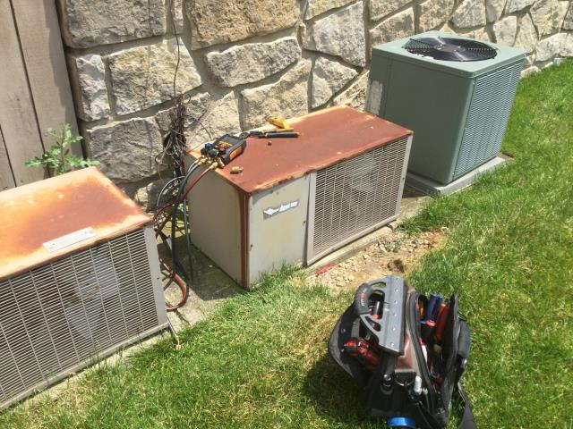 Whitehall, OH - Performed Our Special AC Tune-Up On Bryant  AC System