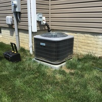 Pataskala, OH - Minor A/C and wiring repairs completed on Comfortmaker System. Unit is operating well at this time.