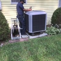 Pickerington, OH - A/C Tune-Up and Safety Inspection for Tempstar unit.