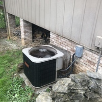 Dublin, OH - Emergency weekend A/C diagnostic service performed on Ducane system. Confirmed system had a blown capacitor along with the hard start kit. Replaced both and the system is working well and efficiently at this time.