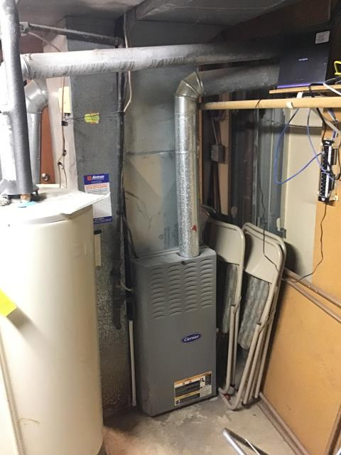 Etna, OH - Diagnosed a bad inducer motor on 80% Carrier furnace. Gave customer a quote to replace motor.
