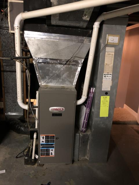 Upper Arlington, OH - I Replaced a pressure switch on a Lennox furnace.