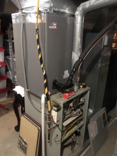 Alexandria, OH - I Performed a Air Conditioner tune-up on a 1994 Trane unit . System is now running a peak performance