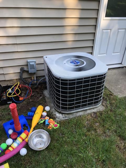 Granville, OH - I Replaced the  variable speed blower motor w/ module on a 1993 Carrier Air Conditioner