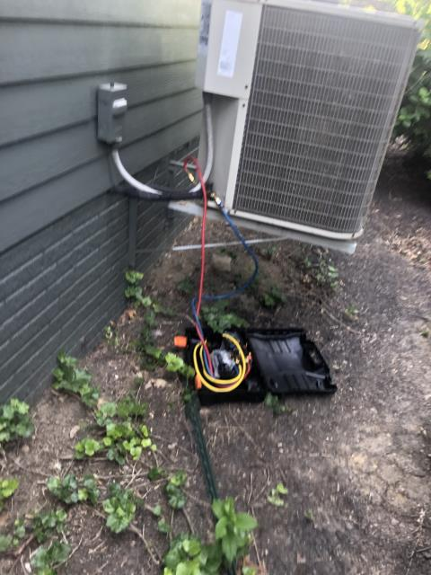 Granville, OH - I replaced the OEM Direct Drive Blower Motor w/Capacitor on a 2010 Payne Air Conditioner
