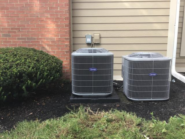 Pickerington, OH - Retrieved portable AC from customer whom was waiting on an expansion valve to be replaced on Carrier AC.